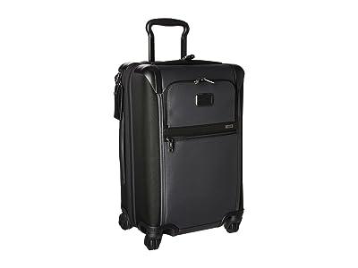 Tumi Alpha 2 International Expandable 4 Wheeled Carry-On (Pewter) Carry on Luggage