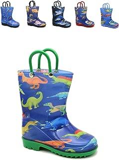 Storm Kidz Kids Boys Printed Rainboots Assorted Prints Toddler/Little Kid/Big Kid Sizes