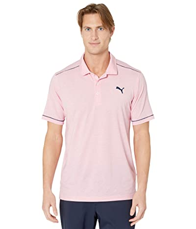 PUMA Golf Rancho Polo (Rapture Rose Heather) Men