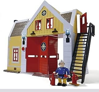 Sam el bombero - Estación de Bomberos con Figura de Oficial