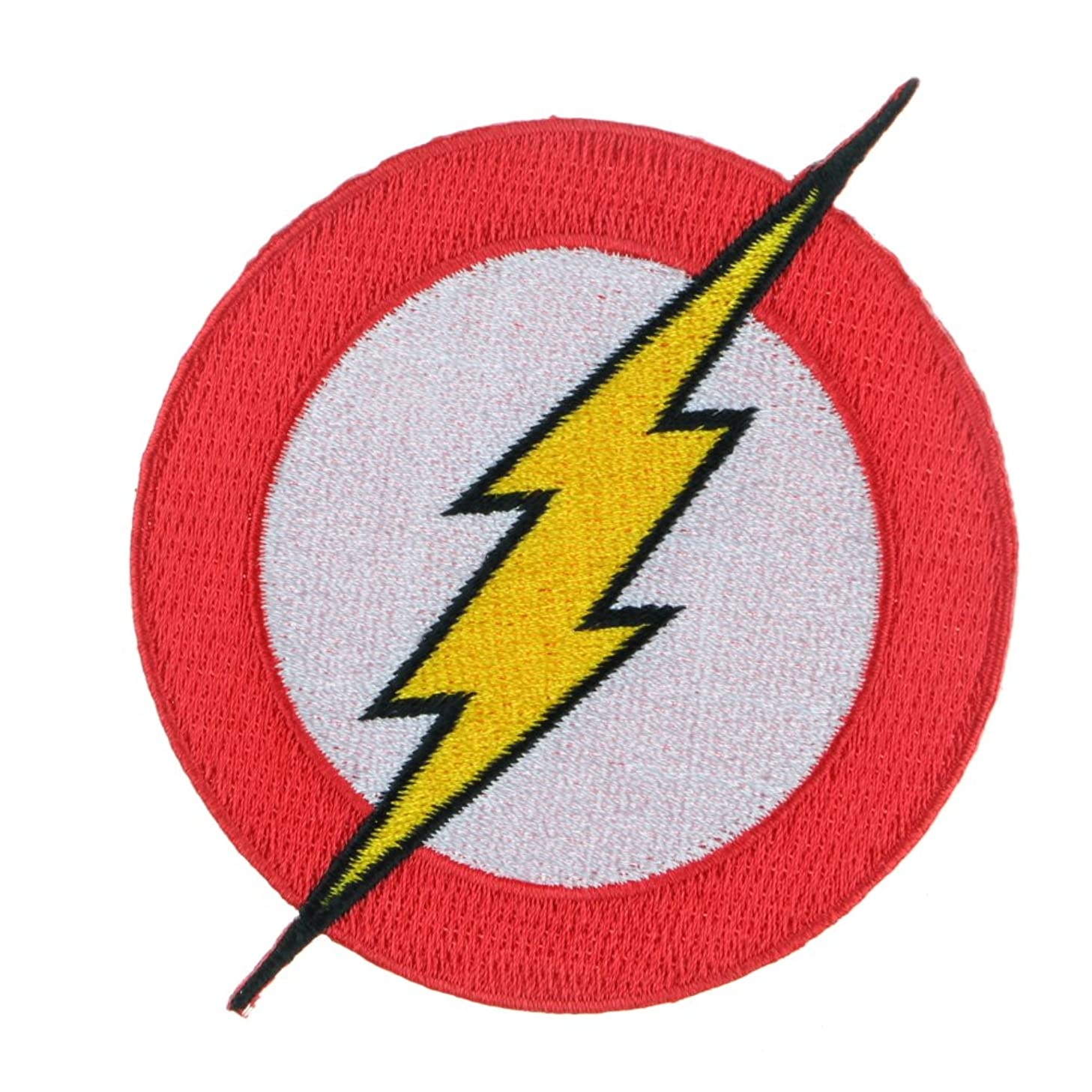 Iron Sew on Applique Patch : The Flash (Red)