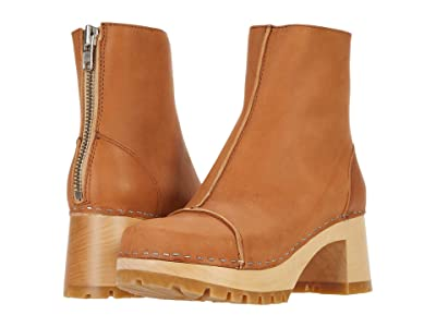 Swedish Hasbeens Stitchy Boot (Nature) Women