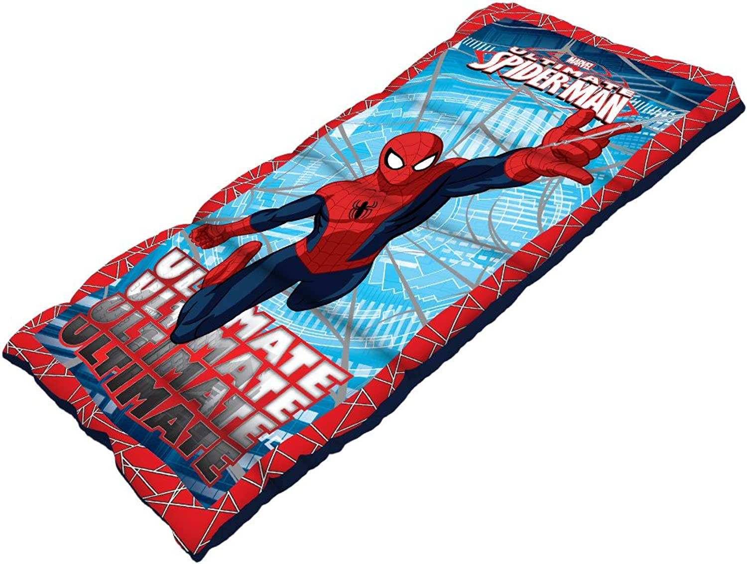 Spiderman Youth Sleeping Bag with 2.0Pound Fill, 28 x 56Inch