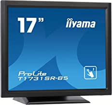 "iiyama Prolite T1731SR-B5 17"" 1280 x 1024pixels Single-Touch Black Touch Screen Monitor"