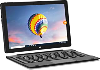 HAOQIN HaoBook106 10.1 inch 2-in-1 Laptop Computer Touchscreen with Detachable Keyboard Intel Atom 2GB RAM 32GB ROM HD IPS...