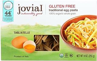 Jovial Organic Brown Rice Egg Tagliatelle Pasta, 9 Ounce - 12 per case.