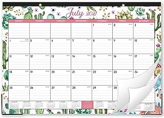"""2020-2021 Desk Calendar - 18 Months Desk Calendar, 17"""" x 12"""", Monthly Desk or Wall Calendar, January 2020 - June 2021, Lar..."""