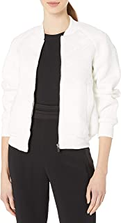 French Connection Women's Hoffman Stitch Bomber Jacket