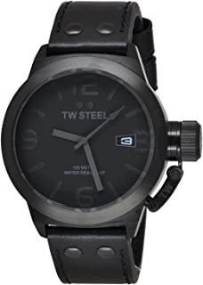 TW STEEL Watch Analog for Men, Leather, TW844