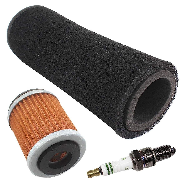 USPEEDA Tune Up Kit Air Oil Filter for Yamaha Warrior 350 YFM350X Wolverine 350 YFM350FX Spark Plug