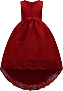 KISSOURBABY Flower Girls Dress Party Wedding Pageant Special Occasion
