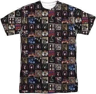 Kiss Rock Band Collection of Classic Album Covers - Camiseta para adultos