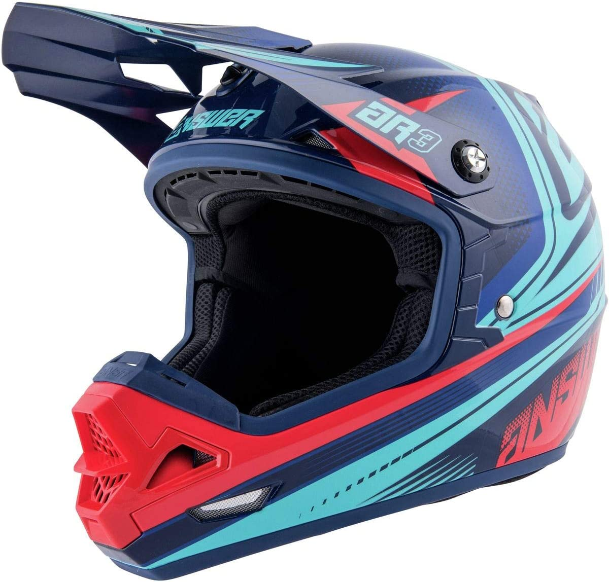 San Antonio Mall Answer Racing A19 Ar3 Charge Helmet Adult 5 popular - Motorcycle Off-Road
