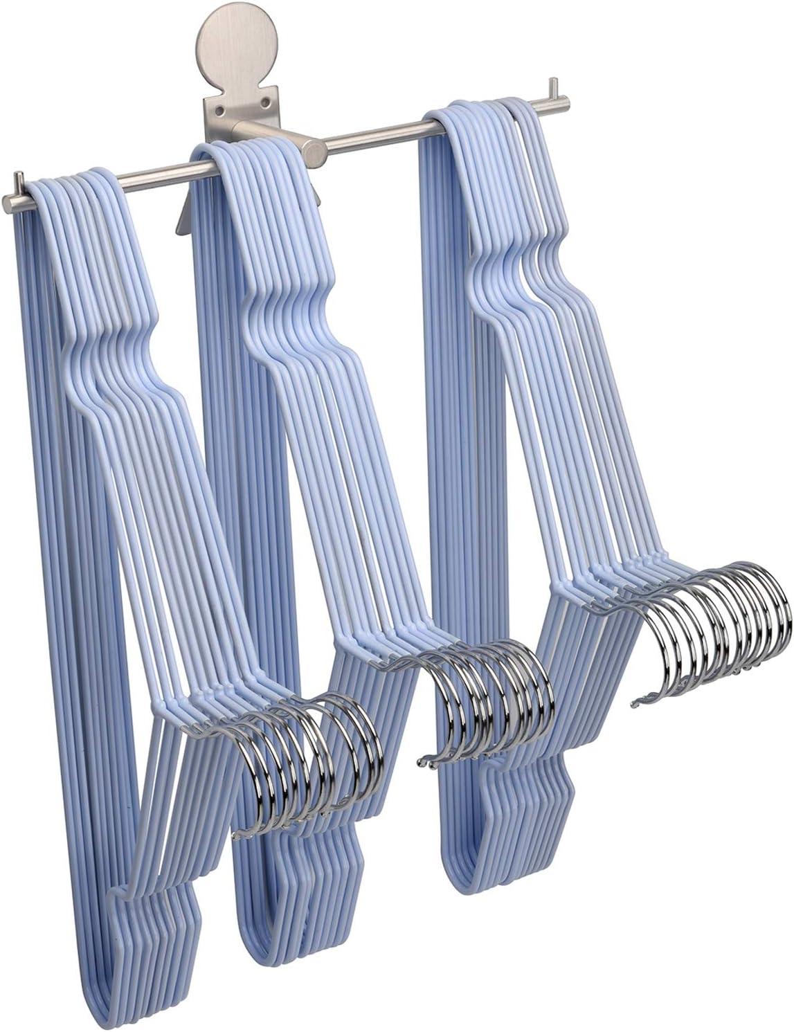 Clothes Hanger Organizer Stacker Super special price Storage Closet for Rack Holder Year-end gift