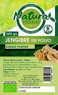 Natura Premium Jengibre Polvo Bio 500 g