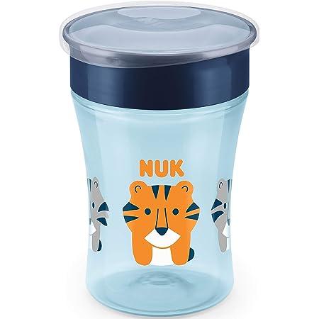 NUK Magic - Taza antiderrame (230 ml), color azul