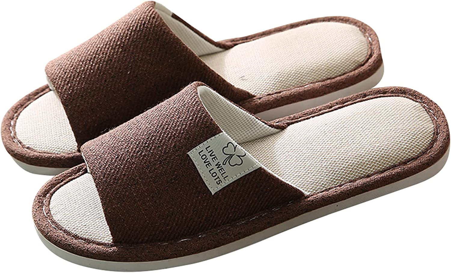 Stunner Womens and Max 49% OFF Mens Cotton Ranking TOP8 Slippers Memory Couple Foam Home