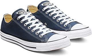 Converse Womens CONV-M9166C Chuck Taylor® All Star® Core Ox Blue Size: 6 Women/4 Men
