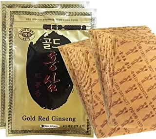 Korean Red Ginseng Patch Powerstrip Energy Pain Relief - 40 Patches