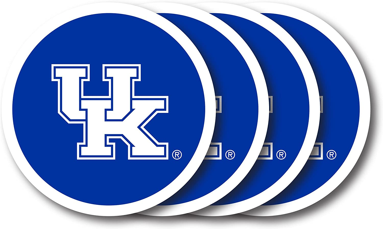 NCAA Kentucky Wildcats Vinyl Coaster Set of Max 63% OFF Max 68% OFF 4 Pack