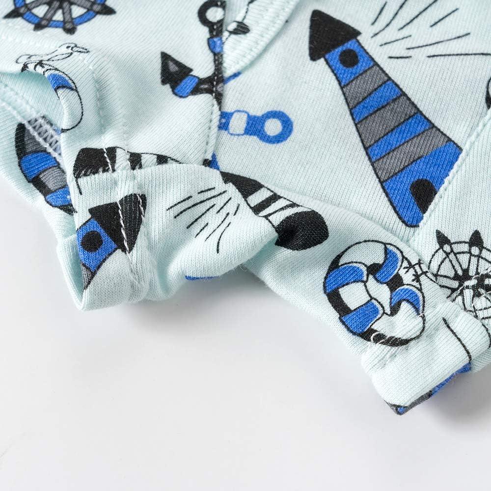 Family Feeling Little Boys' Cotton Boxer Brief Soft Underwear