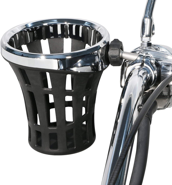 Arlington Max 40% OFF Mall Ciro Big Ass Drink Holder with 1-1 Clamp CHROME Aluminum 4