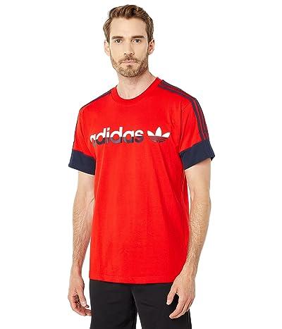 adidas Originals 3-Stripes Split T-Shirt