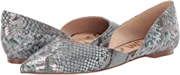 Dusty Blue Multi Bahama Metallic Snake Print
