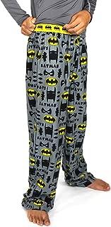 DC Comics Batman Boy's Flannel Pajama Pants (Little Kid/Big Kid)