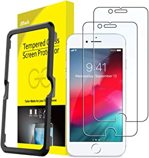 JETech Screen Protector for iPhone SE 2020, iPhone 8/7, iPhone 6s/6, 4.7-Inch, Tempered Glass Film with Easy-Installation ...