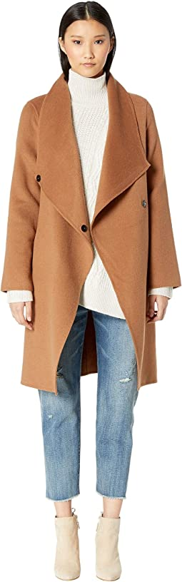 Kiera Open Wrap Coat