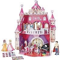 CubicFun 3D Princess Dollhouse Crystal Puzzle
