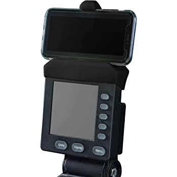 Phone Holder Made for Concept 2 Rowing Machine, SkiErg and BikeErg PM5 Monitors- Silicone Fitness Products