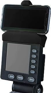 Telefonhållare gjord för PM5-skärmar av roddmaskin, skidåkare och BikeErg – silikon fitnessprodukter