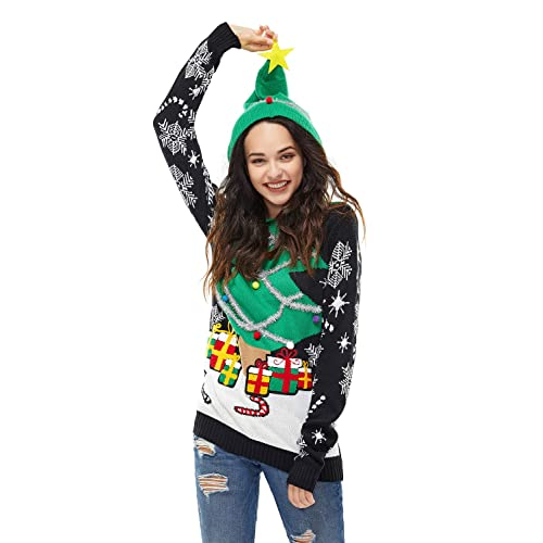 Alough Women Shirts Plus Size Christmas Snowman Snowflake Painted Sweater Long Sleeve Tops Blouse Womens Clothes