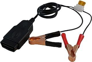 [アスラ] OBD II メモリ セーバー コネクタ OBD2 12V バッテリー 接続用 メモリー バックアップ バッテリー交換道具