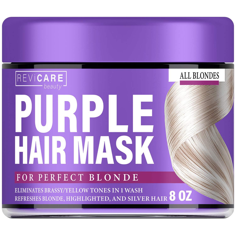 Purple Hair Mask Platinum Condition