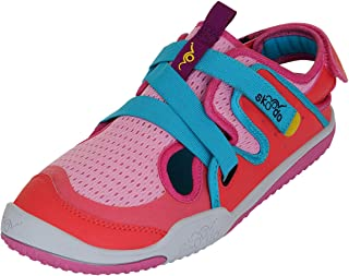 skoodo Kids Casual Sports Shoes (Boys and Girls 6-14 Years) - Ziggie Zag - Candy Pink | Peach
