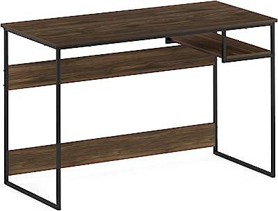 FURINNO Moretti Lifestyle Study Desk, 45 Inches, Columbia Walnut
