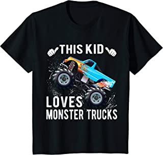 Best monster jam kids shirts Reviews