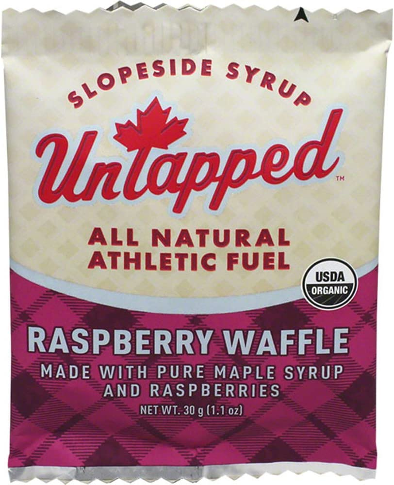 Untapped Organic Maple Raspberry Waffle Individually Max 55% OFF - Wrapped Beauty products