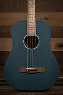 Fender 6 String Acoustic Guitar, Right, Blue (0971170187)
