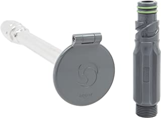 Aquor Frost-Free House Hydrant V1, 12-inch Slate Gray