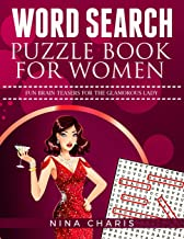 Word Search Puzzle Book for Women: Fun Brain Teasers for the Glamorous Lady