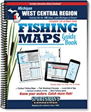 West Central Michigan Fishing Map Guide (Sportsman's Connection)