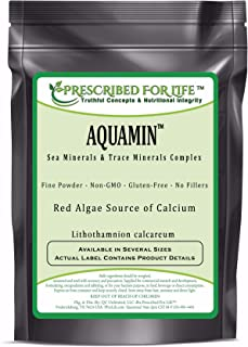 Sponsored Ad - Prescribed for Life Trace Minerals - AquaMin (F) Natural Marine Calcium & Trace Mineral Complex ING: Organi...