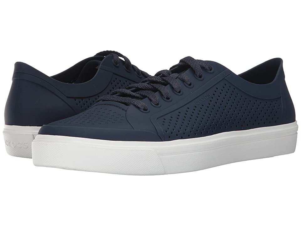 Crocs CitiLane Roka Court (Navy/White) Lace up casual Shoes