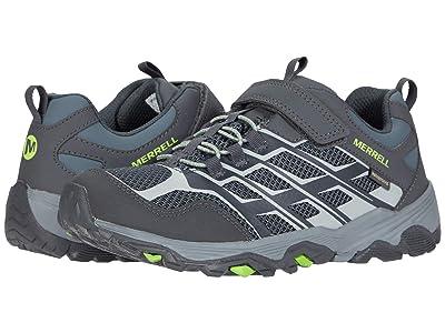 Merrell Kids Moab FST Low A/C Waterproof (Little Kid/Big Kid) (Storm) Boys Shoes