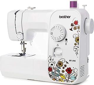 Brother JX17FE (Fantasy Edition) Machine à Coudre électrique pour Débutants, Portable, 17 Points différents, Couture autom...