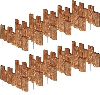 Greenes Fence 18 in. Half Log Edging (12 Pack)